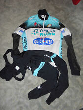 Vermarc Team Quick Step Specialized thermo Winter Jacke + thermo bib tight