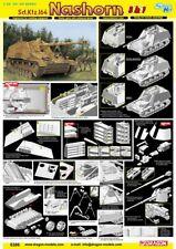 Dragon 6386 1/35 Sd.Kfz. 164 Nashorn (3 in 1) ~ Smart Kit Neu OVP