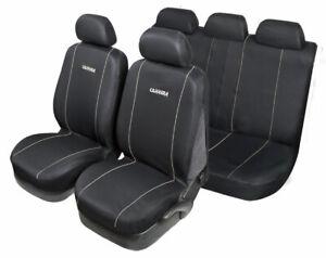 Set Completo Coprisedili Carrera Universale nero-grigio START