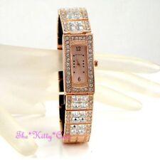Relojes de pulsera de oro rosa de mujer