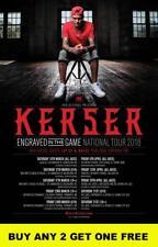 KERSER 2018 Laminated Australian Tour Poster