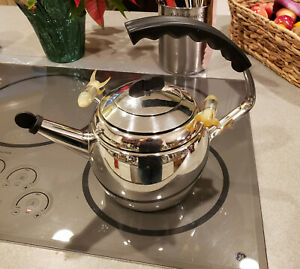 Rare Original Kamenstein World of Motion Rocket Teapot Tea Kettle 1999