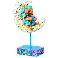 FIGURE DISNEY TRADITIONS WINNIE POOH ON THE MOON BEDTIME BEAR STATUE STATUA #1
