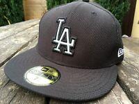 New Era 59FIFTY LA Mens Cap Size 7 1/4  - 57.7 cm  Black  B521-4