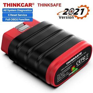THINKCAR OBD2 Scanner Car All System Diagnostic Tool SAS ABS EPB Oil Bluetooth