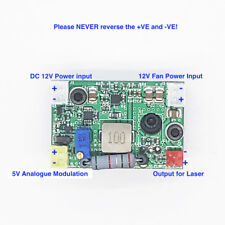 2A 445nm-465nm 12V Laser Diode Driver for 0.5W-2.5W Blue Diode w/h Analogue slot