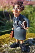01499338   FIGURINE METIER CARICATURE ENSEIGNANT  PROF  COLLECTION LES  ALPES