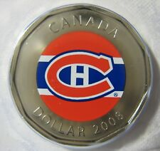 2008 - $1 - NHL - Road Jersey Crests - Montreal Canadiens - Sealed - One Coin