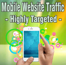 10,000 Real Visitors! HIGHLY TARGETED MOBILE TRAFFIC! iOS and/or Android