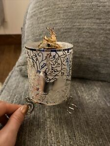 Christmas Deer Candle Rotary Decoration
