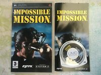Impossible Mission for Sony PSP Game Complete -