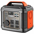 Portable Power Station 300W Solar Generator with USB Quick Charge
