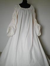 Irish Leine Scottish Renaissance Dress Chemise small med large xlarge