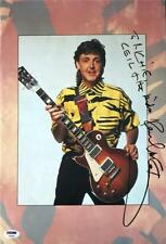 "PAUL McCARTNEY SIGNED 10""x16"" TOUR PROGRAM PHOTOGRAPH! PSA/DNA LOA"