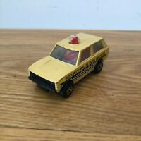 Matchbox Police Patrol Car Super Fast #20 Beige PARIS DAKAR VN (USED)