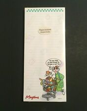 Maxine Hallmark Cards Memo Pad Magnet 80 sheets New shopping cart