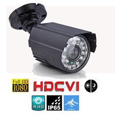 HD-CVI 2.0MP HD 1080P Night Vision Waterproof Security CVI CCTV Camera System