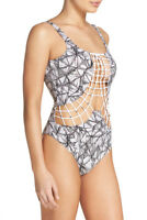 Dolce Vita Macrame One-Piece Swimsuit Size L Large