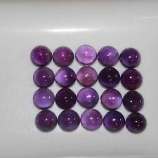 Purple Amethyst 8mm Cabochon Round Loose Gemstones w/ Multi-Qty Discounts