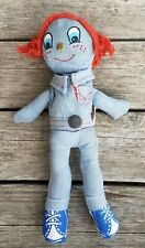 VINTAGE LEVI'S JEANS KNICKERBOCKER DENIM RAGDOLL PLUSH BIG E BUDDY LEE REDLINE