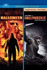 NEW HORROR DOUBLE FEATURE DVD - HALLOWEEN + HALLOWEEN 2 - ROB ZOMBIE , MALCOLM