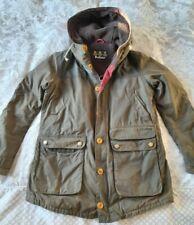 Barbour game Parka large jacket coat wax cotton