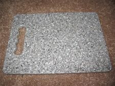 New Pebble Gray Solid Surface Cutting Board Staron Chopping Slicing Serving