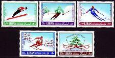 Libanon Lebanon 1968 ** Mi.1033/37 Ski Sport Sports