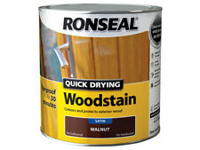 Ronseal Quick Drying Woodstain Satin Dark Oak 2.5 Litre Rslqdwsdo25l
