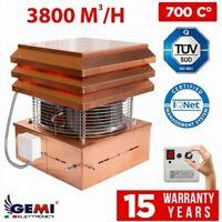 CHIMNEY FAN copper Professional Exhaust chimney draft Extractor FLUE FAN 220V