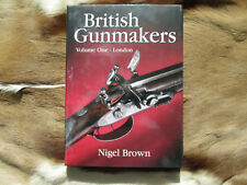 British Gunmakers Volume 1 by Nigel Brown Hardcover Safari Press Guns