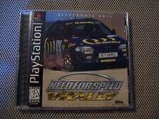 Need for Speed: V-Rally (Sony PlayStation 1, 1997)  COMPLETE