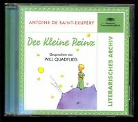 ANTOINE DE SAINT-EXUPÉRY -- DER KLEINE PRINZ -- CD --(HÖRBUCH) - Will Quadflieg-