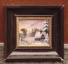 rare magnifique ancienne miniature émaux limoges / cuivre signé pierre bonnet n2