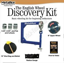 MetalAce English Wheel Discovery Kit for Shaping Metal MADiscovery