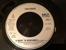 SHALAMAR . A NIGHT TO REMEMBER . Classic Hit 1982 .  NR. MINT
