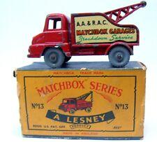 Matchbox Lesney 13 Thames Trader Wreck Truck Box.Vintage.1960