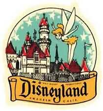 Disneyland  Fairy  Anaheim CA   Vintage Looking  Sticker Decal Luggage Label