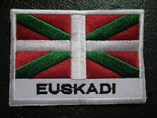 BASQUE COUNTRY EUSKADI EUSKALDUN VASCO VASCA FLAG Sew on Patch