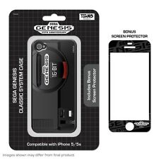 SEGA Genesis System Style Silicon Case w/Screen Protector for iPhone 5/5s