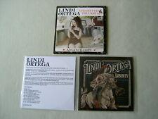 LINDI ORTEGA job lot of 3 promo CDs Cigarettes & Truckstops Liberty