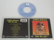 Stevie Wonder / Hotter Than July (Motown ZD72015) CD Álbum
