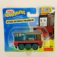 Thomas And Friends Adventures Steelworks Frankie Metal Engine Fisher Price New