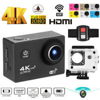 4K SJ9000 1080P Ultra HD Sports Action Helmet Camera DVR Cam Camcorder as Go Pro