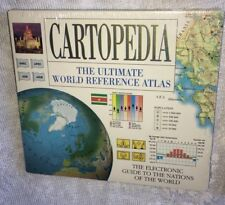 New Cartopedia The Ultimate World Reference Atlas Pc Cd-Rom New Sealed