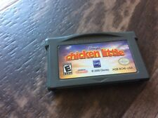 Chicken Little (Nintendo Game Boy Advance, 2005) Used Free US S/H