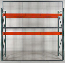 Wirecrafters Woven Wire Panels Style 840 Wire Partition Security Fence 10ftx4ft