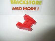 Lego 4x Aile Wedge plate 3x4 stud notches rouge//red 48183 NEUF