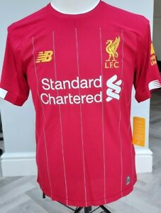 GENUINE   Liverpool FC Home Shirt Jersey 2019-20  Small  UK  BNWT