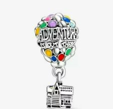 Pandora Disney Up House Balloons Charm Dangle S925.  c062